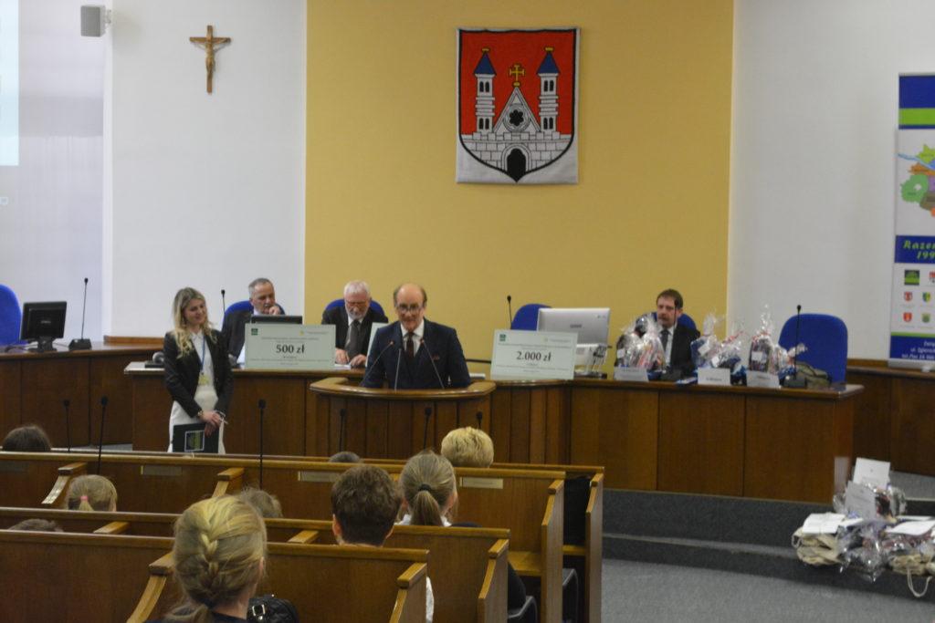 Wręczenie nagród w konkursie ,,Elektrośmieci do Związku Gmin Regionu Płockiego przekazujemy – świat ratujemy''