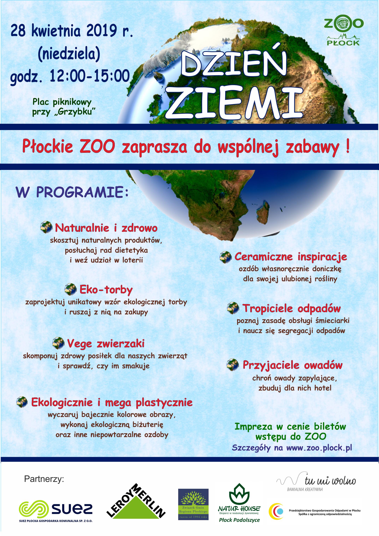 Dzień Ziemi 2019 Związek Gmin Regionu Płockiego