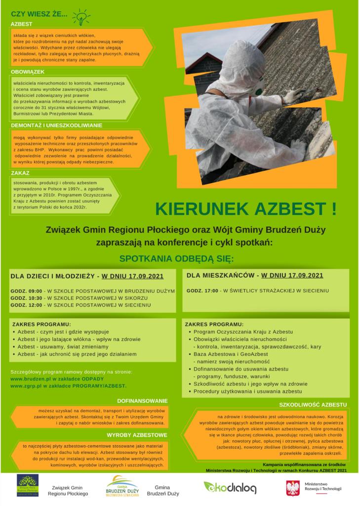 Działania edukacyjno-informacyjne na terenie Związku Gmin Regionu Płockiego